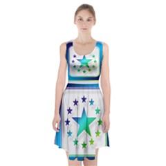 Icon Star Europe Symbols Online Racerback Midi Dress