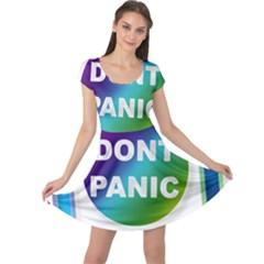 Icon Panic Symbols Online Internet  Cap Sleeve Dresses
