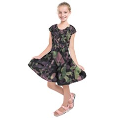 Depression  Kids  Short Sleeve Dress