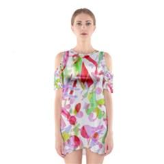 Summer Cutout Shoulder Dress