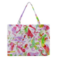 Summer Medium Zipper Tote Bag