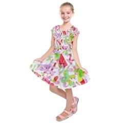 Summer Kids  Short Sleeve Dress