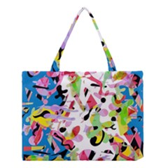 Colorful Pother Medium Tote Bag