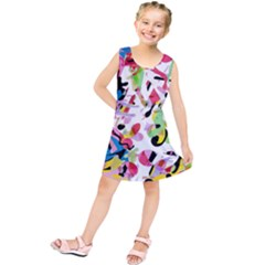 Colorful pother Kids  Tunic Dress