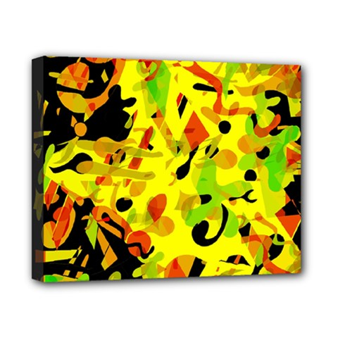 Fire Canvas 10  x 8