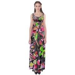 Playful Pother Empire Waist Maxi Dress