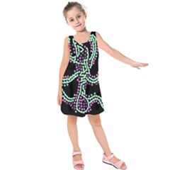 Playful Dots Kids  Sleeveless Dress