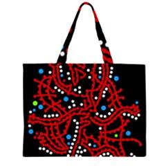 Red fantasy 2 Large Tote Bag