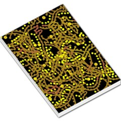 Yellow emotions Large Memo Pads