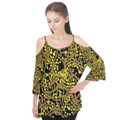 Yellow Emotions Flutter Tees