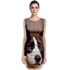 Cardigan Welsh Corgi Classic Sleeveless Midi Dress