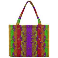 Raining Flowers From The Sky Mini Tote Bag