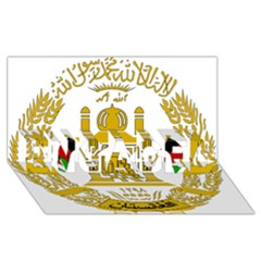 Emblem Of Afghanistan, 2004 2013 Engaged 3d Greeting Card (8x4)