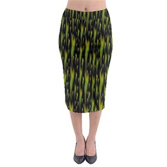 Tulips For The Soul Midi Pencil Skirt