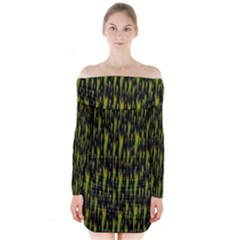 Tulips For The Soul Long Sleeve Off Shoulder Dress