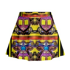 Spirit  Bulgarian Bee Mini Flare Skirt
