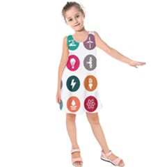 Acces Image Consumer News Letter Kids  Sleeveless Dress