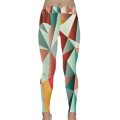 Abstracts Colour Classic Yoga Leggings
