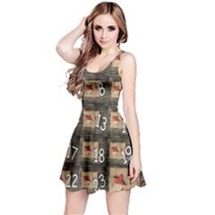 Advent Calendar Door Advent Pay Reversible Sleeveless Dress