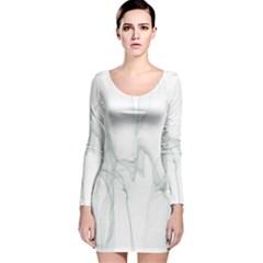 Background Modern Computer Design  Long Sleeve Velvet Bodycon Dress