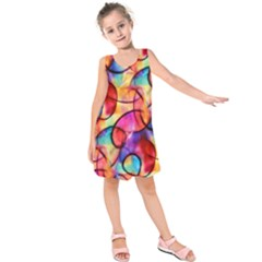 Color Ecstasy Kids  Sleeveless Dress