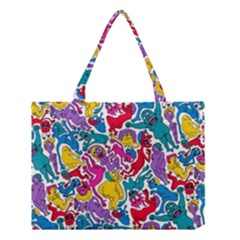 Animation Animated Cartoon Pattern Medium Tote Bag