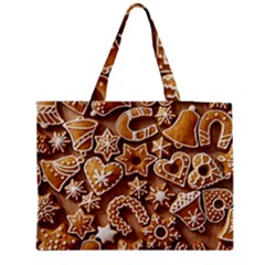 Christmas Cookies Bread Medium Tote Bag