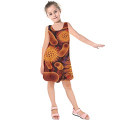 Chemical Biology Bacteria Bacterium Kids  Sleeveless Dress