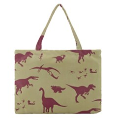 Dinosourus Medium Zipper Tote Bag