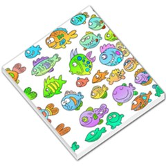 Fishes Col Fishing Fish Small Memo Pads