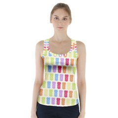 Gummibears Candy Racer Back Sports Top