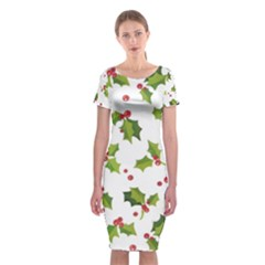 Images Paper Christmas On Pinterest Stuff And Snowflakes Classic Short Sleeve Midi Dress