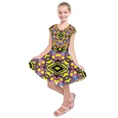 Spirit Time5588 52 Pngy Kids  Short Sleeve Dress