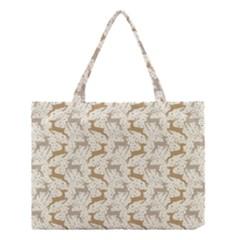 Paper Gift Deer Medium Tote Bag