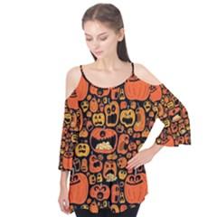 Pumpkin Helloween Flutter Tees
