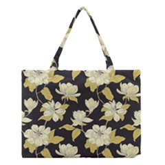 Pattern Rose Medium Tote Bag