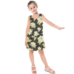 Pattern Rose Kids  Sleeveless Dress