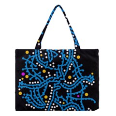 Blue Fantasy Medium Tote Bag