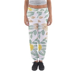 Yellow Ranunculus Women s Jogger Sweatpants