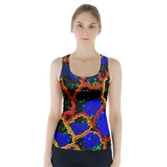 Single Cells Gene Edges Zoomin Color Racer Back Sports Top