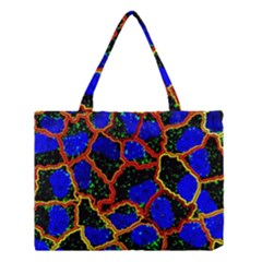 Single Cells Gene Edges Zoomin Color Medium Tote Bag