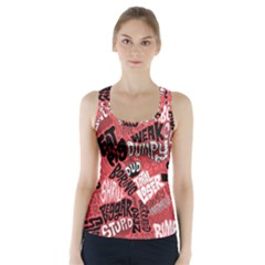 Tals Stupid Racer Back Sports Top