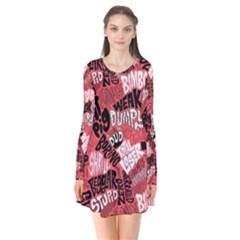 Tals Stupid Flare Dress