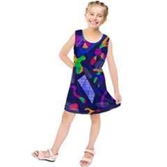 Colorful Dream Kids  Tunic Dress