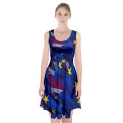 Brexit Referendum Uk Racerback Midi Dress