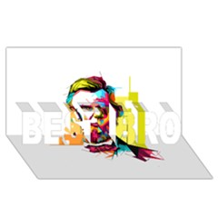 Abraham Lincoln Best Bro 3d Greeting Card (8x4)