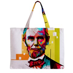 Abraham Lincoln Medium Tote Bag