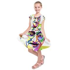 Ghandi Kids  Short Sleeve Dress