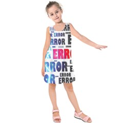 Error Crash Problem Failure Kids  Sleeveless Dress