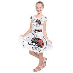 Insect Kids  Short Sleeve Dress